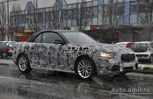 The First Photo of The BMW 2-Series Cabrio