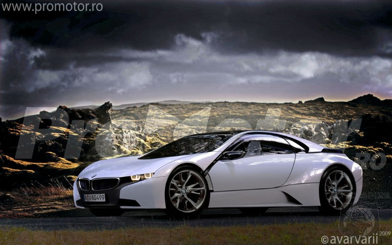 Bmw M10 Concept. Renderings: BMW Vision