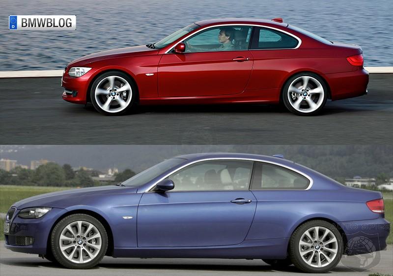 Photo Comparison: E92 Coupe facelift vs. pre-facelift