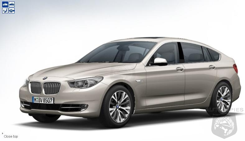 BMW 5 Series GT configurator on bmw.co.uk   AutoSpies Auto News