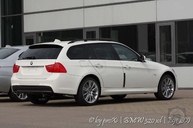 German customer takes delivery of 2009 BMW 3 Series Wagon Facelift ...