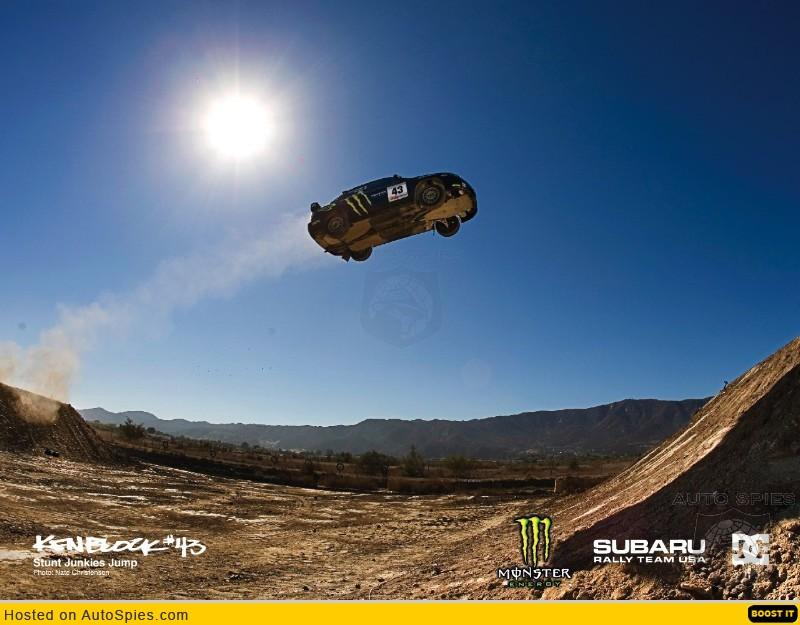 Když skok autem nevyjde...
