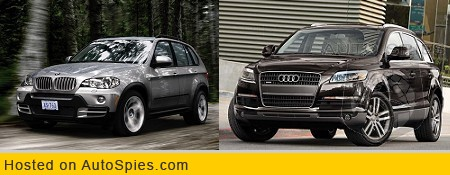 Face Off Friday Germany Luxury Suv Battle 2007 Bmw X5 Vs Audi Q7