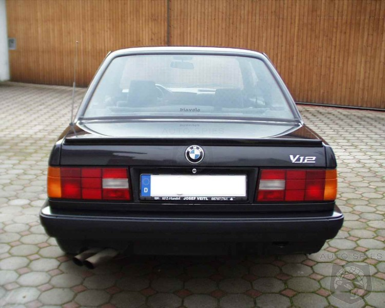 BMW 350i: E30 3 Series With A 350Hp BMW V12 Engine!