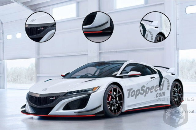 2017 acura nsx type r will have over 700 hp - autospies auto news
