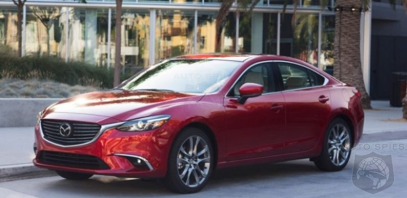 2018 Mazda 6 - at Last Ready for New and Improved Design