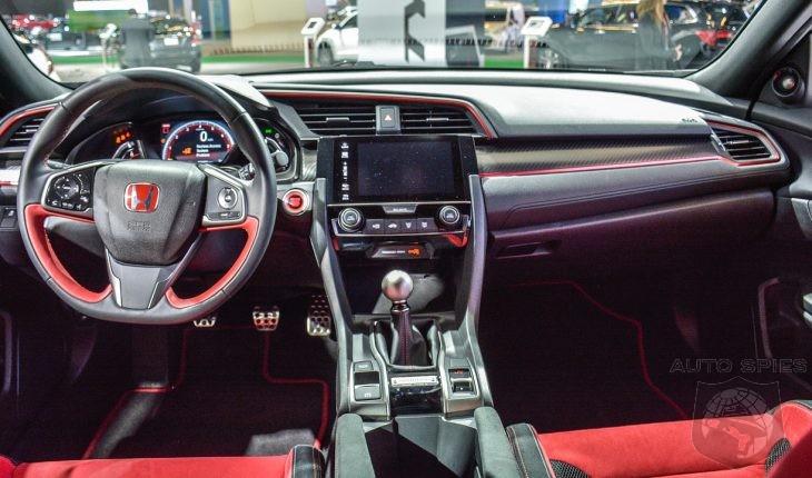 2018 Honda Civic Type R Prototype Interior Details