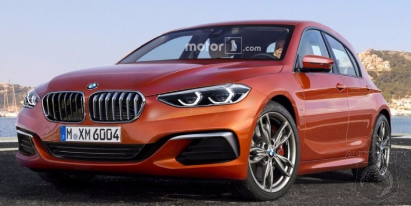 2019 bmw 1 series render shows its possible fwd future autospies auto news. Black Bedroom Furniture Sets. Home Design Ideas