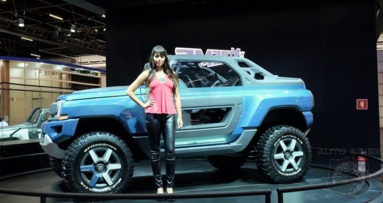 New Ford Bronco Similar To Brazil S Troller T4 Xtreme
