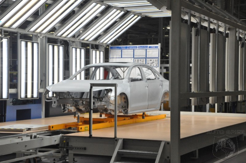 Top Secret: Photos from Volkswagen's New U.S. Passat Factory