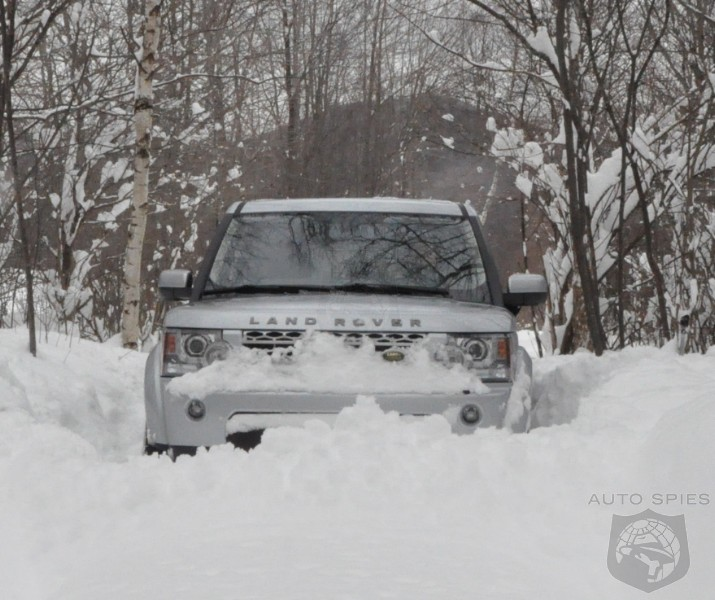 How Much Snow Does It Take To Stop A 2011 Land Rover LR4