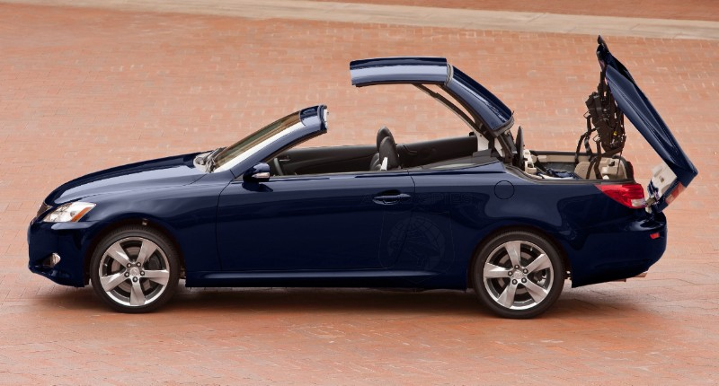 Test Drive And Report Lexus Is Convertibles 250 C