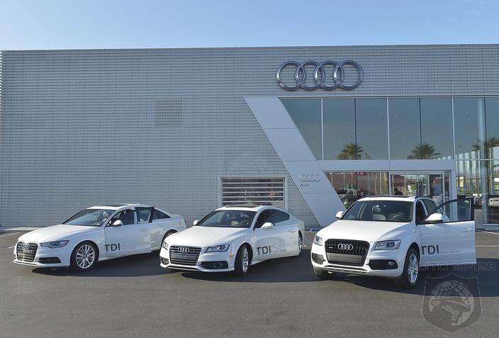 Audi TDI® Models Smash Fuel Economy Ratings During Cross-Country Efficiency Drive