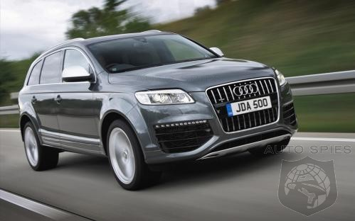 Audi Q7 Wins ALG Residual Value Award