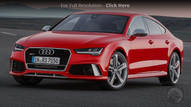 2016 Audi RS7 Facelift Revealed! Receives Similar Changes As Previously Shown A7 and S7
