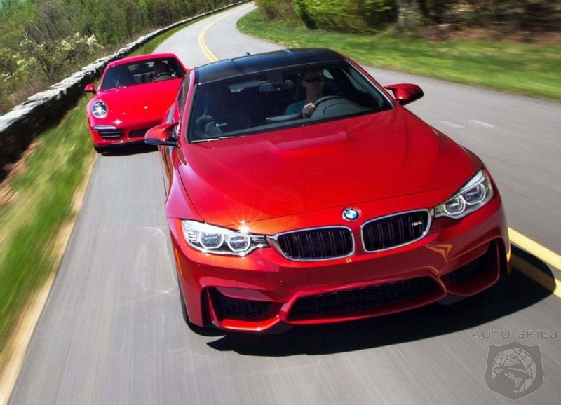 Car and Driver Comparison Test: 2015 BMW M4 vs. 2015 Porsche 911 Carrera - The BMW Wins But the Comparison Is Anything But Even!