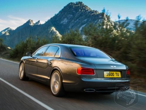 2014 Bentley Continental Flying Spur Pictures LEAKED Ahead of Geneva Debut!!