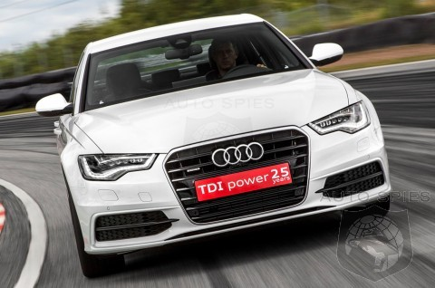 Audi A6 TDI High-Performance Diesel Concept First Drive Review! Indicates Audi is Serious On High-Performance Diesel