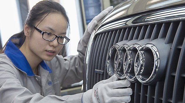 Audi AG's 2012 China Sales Rise 29.6% and Surpass 400,000 Units to New Record - Remains China Market Leader