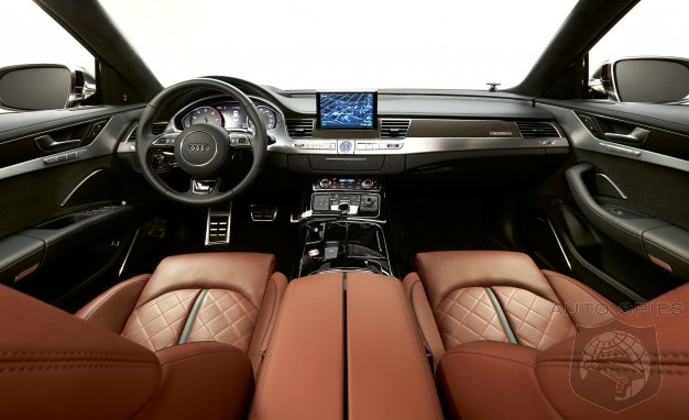 car and driver says the 2015 audi s8 39 is the best automotive interior under 120 000. Black Bedroom Furniture Sets. Home Design Ideas