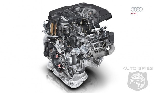 Audi's New V6 TDI Diesel Engine To Get 28 More Horsepower and 37 Lb-Ft. of Torque With 13% INCREASE in Efficiency - Should BMW and MB Be Worried?