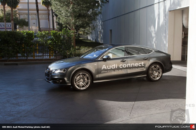 Audi Becomes First Automaker To Showcase Piloted Driving Technology With A7 At FL's Selmon Expressway