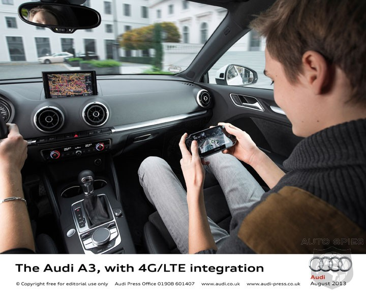 Audi and AT&T Announce Pricing For First Ever In-Vehicle 4G LTE Connectivity