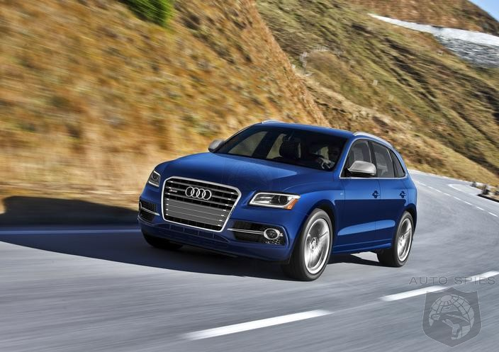 Audi Announces U.S.-Bound SQ5 With 354 Horsepower Gasoline Powered V6