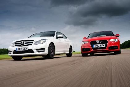 Mercedes C-Class Coupe vs Audi A5 - Who Is The King Of The Hill NOW?