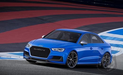Audi Releases Video of Its A3 Clubsport Concept!