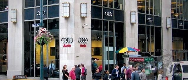 AudiVolkswagen To Open Flagship Showroom In Manhattan AutoSpies - Audi of manhattan