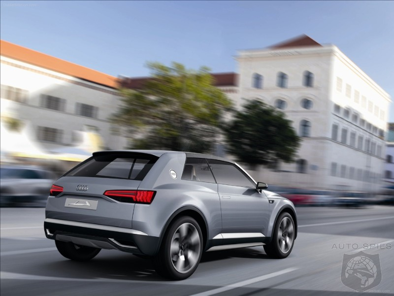 - Will Sit Above Q7 and is Audi's 4th New SUV in the Pipeline