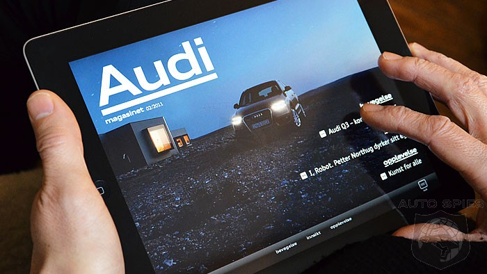 Audi of America Uses High-Tech Digital Tools To Revolutionize Dealership Experience