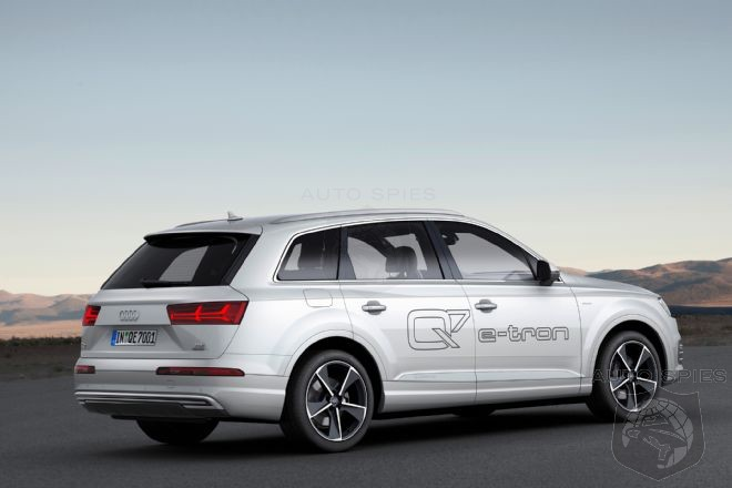 Report Audi Q7 E Tron Plug In Hybrid Headed To Us With Gasoline Engine