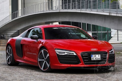 Audi R8 e-Tron Confirmed For Production With 279 Mile Range and Q7 SUV Still Due End of 2014 - Refuting Claims of Delay