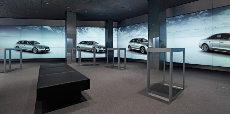 Audi Plans More Digital Showrooms - Remarkable Success of First Digital Store in London Spurs Large Expansion