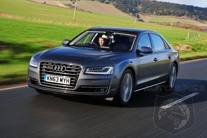 Audi A8 E-tron on the Way With New V6 Diesel-Electric Engine - Will Be Used In Future Models As Well