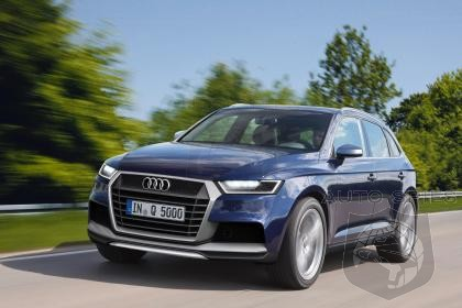 2016 Audi Q5 Pictures Reveal More Angular and Aggressive Styling With High-Tech Features