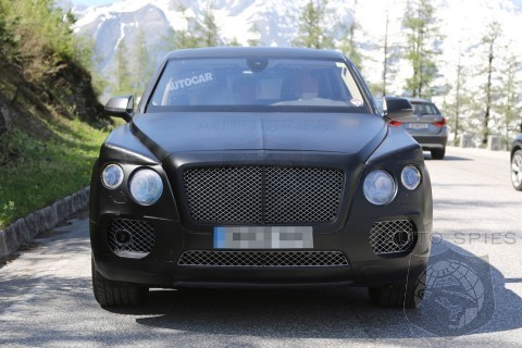 Bentley SUV Design Finalised, Reveals Design Boss