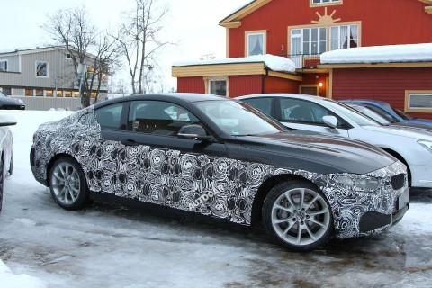 BMW 4-Series Sheds Disguise to Reveal Production Car - Significantly Less Bold Design Than Concept!