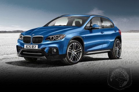 Next BMW X1 Will Be Front-Wheel Drive And Debut in 2015