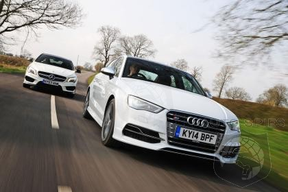 Audi S3 Sedan Defeats Mercedes-Benz CLA45 AMG in Auto Express Comparison Test!
