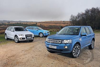 2013 Audi Q5 Defeats Land Rover Freelander and Volvo XC60 ...