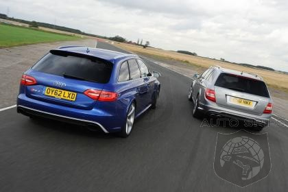 2013 Audi RS4 Defeats Mercedes-Benz C63 AMG in Auto Express Comparison Test!