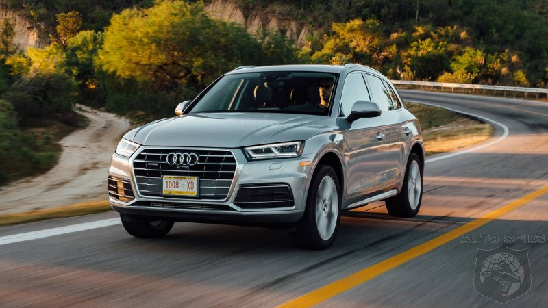 Audi's August 2017 U.S. Sales Rise 2.8% Driven By Q5 and A5 Models