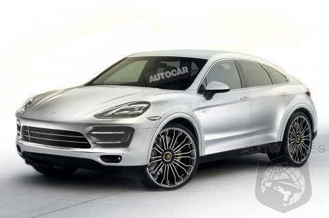 Porsche Plans New Five-Door Cayenne Coupe - Is BMW's X6 Ready To Face The Competition?