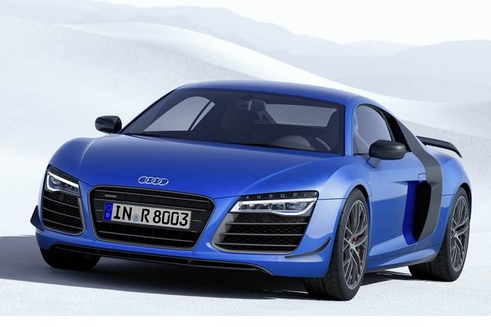 Audi Beats BMW With First Laser Lights in Production Car - Special Edition R8 LMX is Most Powerful R8 Ever