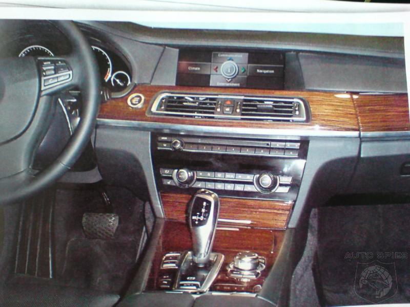 Spied BMW 2009 F01 7 Series Interior