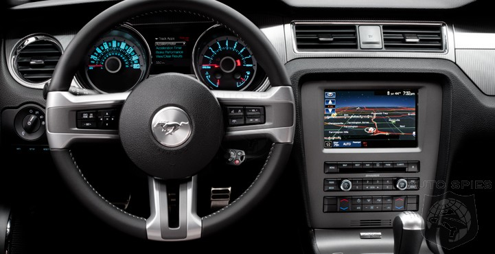 Mustang To Get Ford SYNC AppLink First