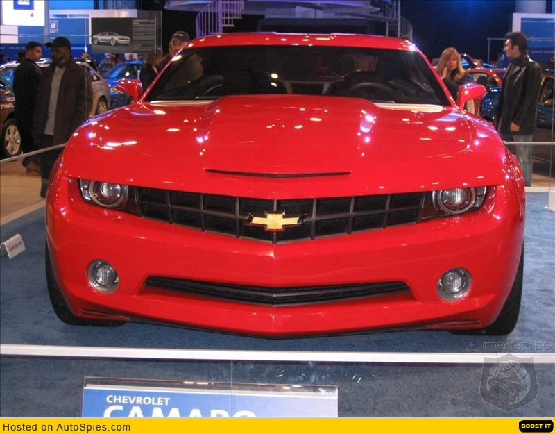New Camaro to be built in Canada EH!
